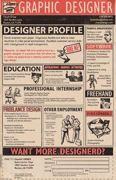 Chuck D. Lay's Resume #resume #design #inspiration