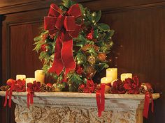 Decorating Mantels for the Holiday - Christmas Mantel Decorating Ideas - Frontgate