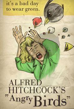 Angry Birds por Hitchcock