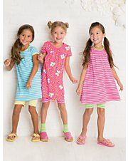cute spring styles for little girls hair (hanna andersson's spring catalog)