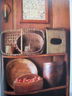 primitive country kitchens | Early American COUNTRY KITCHEN Primitives & Antiques | eBay