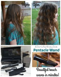 NuMe Styling wand to