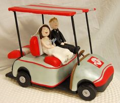 golf cart cakes - Google Search