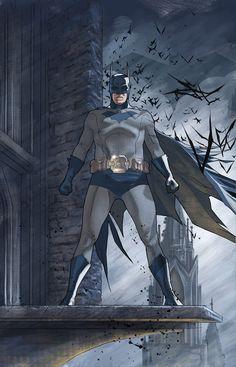 """""""Batman"""" by Bentti Bisson."""