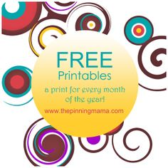 Love a free printable or 13