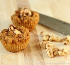 Pumpkin Pie Muffins #grainfree #glutenfree