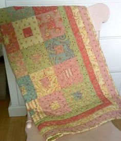 Poetry Baby Quilt
