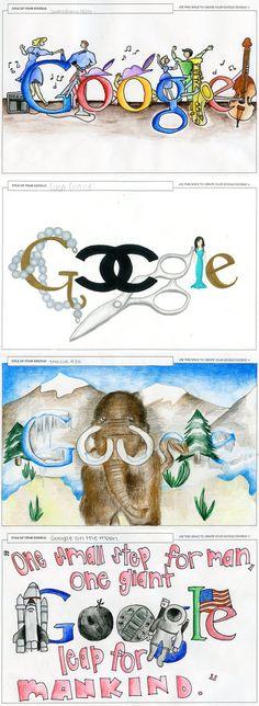sketchbook idea: google-doodle