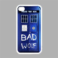Tardis Doctor Who iPhone Case iPhone 4 case by SephiaAndromeda; another VERY cool iPhone case!!!