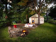 If you have a thing for yurts, here are three to check into