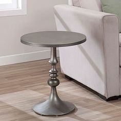 Bailey Steel Grey Accent Table $99.99