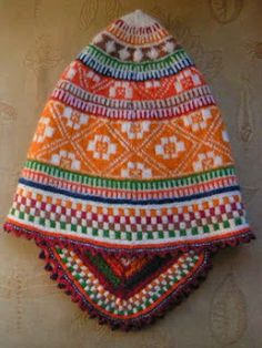 Andean knitting