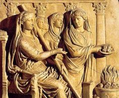 Etruscan vestal virgins