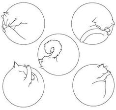 mimieux:  (vía Illustration / Kitty Dots embroidery pattern)