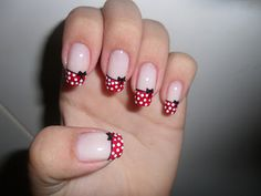 minnie mouse nails (2)