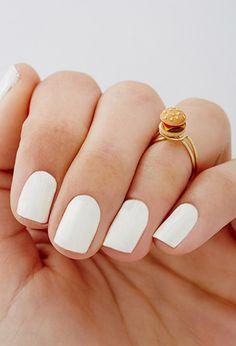 White nails - Midi R
