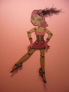 Art Paper Doll - yes yes yes