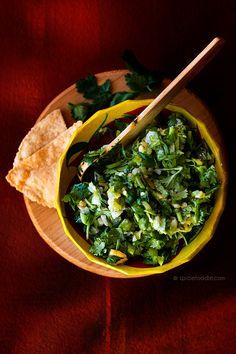 Charred Habanero-Garlic and Cilantro Salsa | #salsa #habaneros #Mexican #tacos #CindoDeMayo