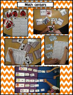 Golden Gang Kindergarten: Math and Literacy Centers