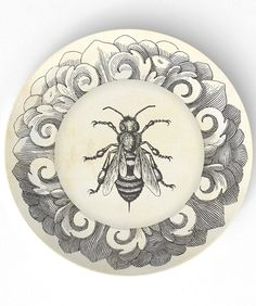 ≗ The Bee's Reverie ≗ Bee plate