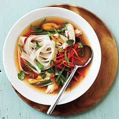 Spicy Asian Chicken and Noodle Soup | CookingLight.com