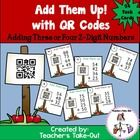 Spice up your addition unit with this fun, self-checking math center. Students add three or four 2-Digit numbers. They record their answer on a recording sheet. Then they scan the QR Code to see if they have the correct answer. $