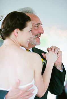 Emotional Father-of-the-Bride Photos. Katie Stoops Photography.