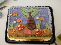Beach Theme Birthday Cake - For Oliver?