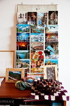 Really want a postcard display like this to show off my collection!