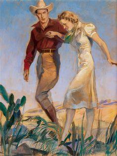 John LaGatta (American, 1894-1976) - Assisting a Lady.
