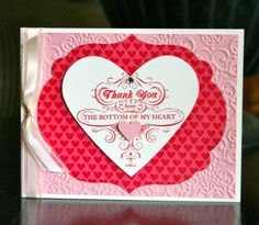 Stampin' Up! Card by Krystal's Cards and More: Heartfelt Thanks