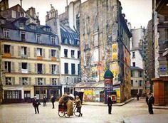 Rare photo of Paris circs 1900