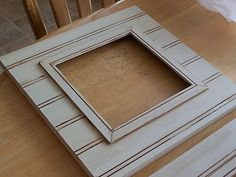 make your own beadboard frames
