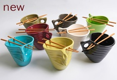 ramen noodle bowls-handmade in the US and Canada. guy gift, wedding gift, new house....