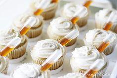 Pipette Cupcakes (Vegan Vanilla Cupcakes) - Savoring Spoon