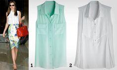 Como usar: camisa sem manga - Tá na moda - Moda - MdeMulher - Editora Abril