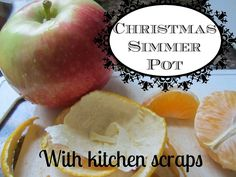 Christmas Simmer Pot (from kitchen scraps) - no waste!