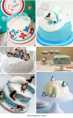 Amazing Winter Cakes!