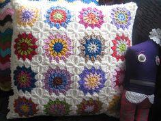 almofadas de crochê - Pesquisa Google