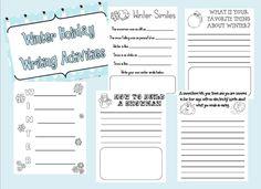 Winter Writing Freebie - Ginger Snaps