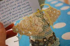 How to crochet Angel Wings tutorial from Greedy for Colour