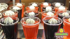 There's always room for Jell-O especially Halloween Jell-O! @Cookie's Cafe