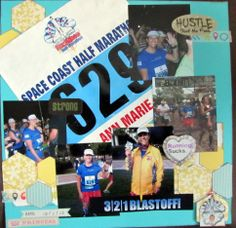Space Coast half marathon - Scrapbook.com