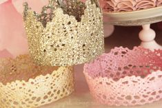 How to Make a Lace Princess Crown!