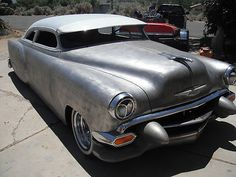 1954 chevy chop top, custom, sled