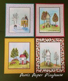 Home for Four Seasons (card set) #holidayhome