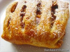 Easy Apple Strudel ~ Sankeerthanam (Reciperoll.com)|Recipes | Cake Decorations | Cup Cakes |Food Photos