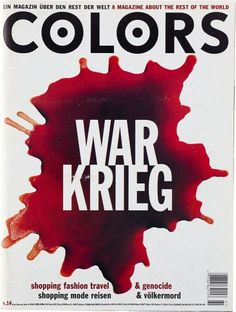 Colors Magazine - War