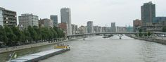 Picture of Belgium : Liege - the Meuse river