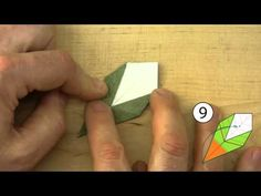How to Fold the Olive Leaf for Origami Bonsai